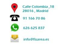 Centro fisioterapia mujer Madrid